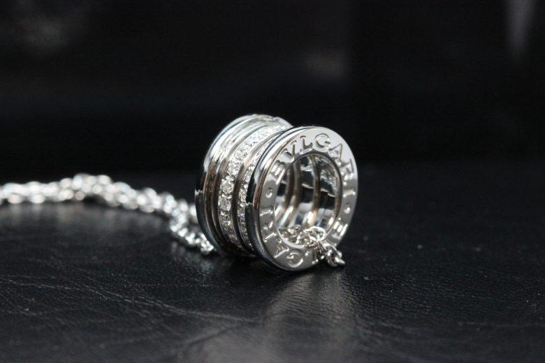 ブルガリ b-zero1ダイヤネックレス